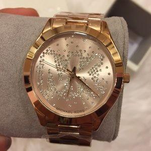 Michael lots women's watch. Rose gold